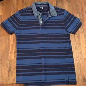 Men's GAP striped polo style shirt